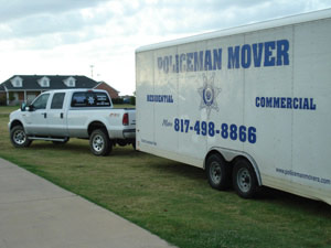 Keller Texas Moving Company - Dallas Movers, Fort Worth Movers, Southlake moving company, Keller Movers, policeman movers